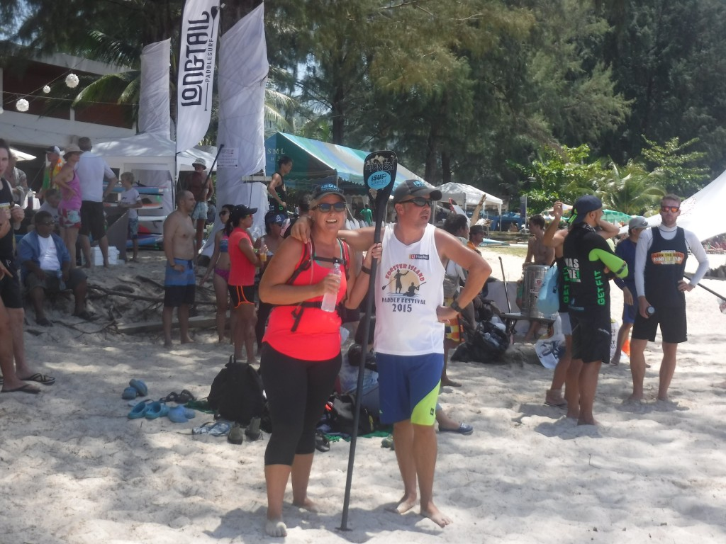 Phuket Thailand SUP Festival At the end of the race